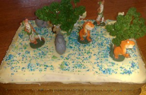 Ice Age Birthday Cake