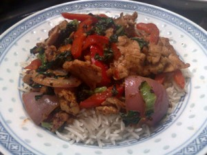 Easy Turkey Stir Fry