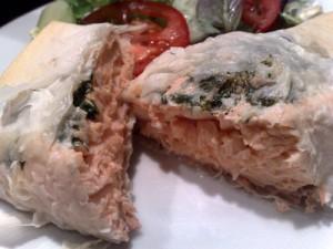 Salmon & Herb Filo Parcels