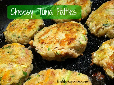 Cheesy Tuna & Vegie Patties