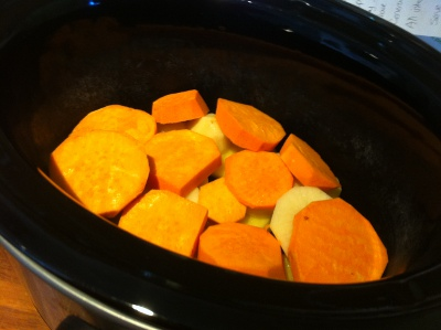 Slow Cooker Vegetable Bed