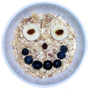 Smiling Breakfast Bowl