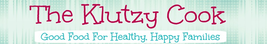 The Klutzy Cook header image