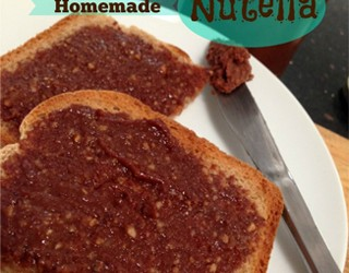Nutty About  My Homemade Nutella Recipe