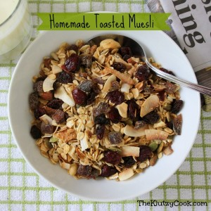 Homemade Toasted Muesli
