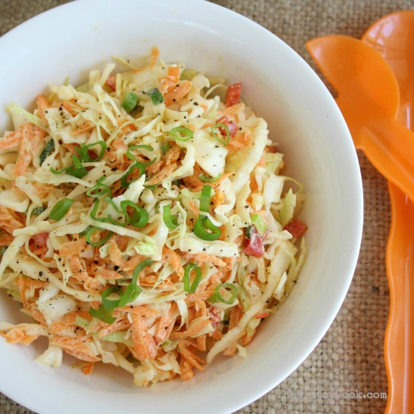Creamy Coleslaw with Yoghurt Dressing