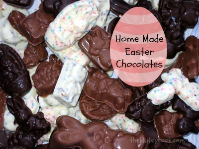 Home Made Easter Chocolates