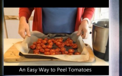 An Easy Way To Peel Tomatoes