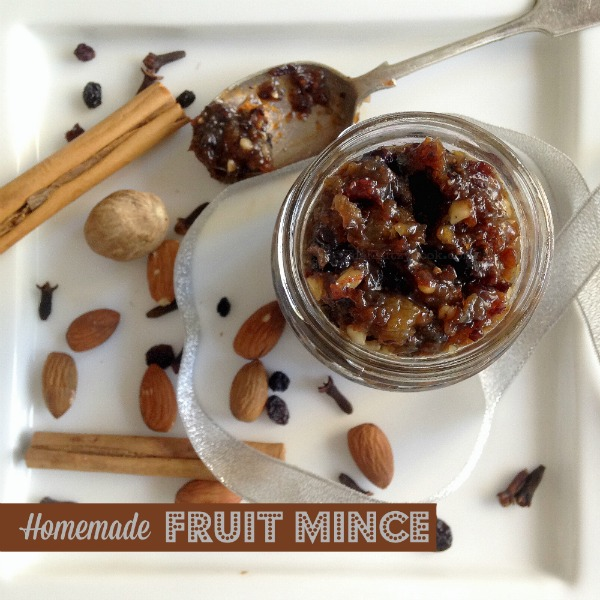 Homemade Fruit Mince